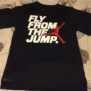 Jordan graphic logo fly from the jump xL youth